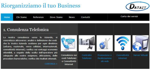 Datait srl - Sviluppo sito web